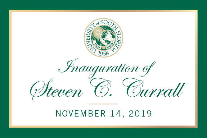 Inauguration of Steven C. Currall, November 14, 2019