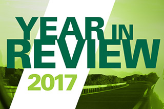 Year in Review 2017 graphic