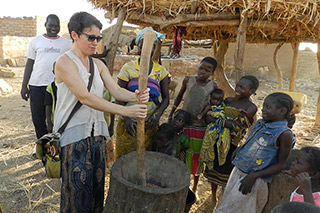 USF Fullbright winner working with children in Africa