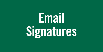 Email signature instructions