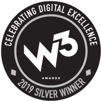W3 Silver Award Winner Badge