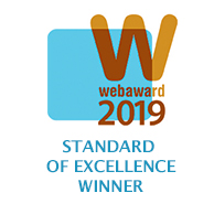 Web Marketing Association WebAward for Standard of Excellence