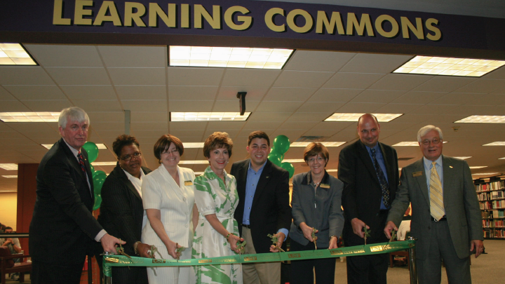 ASC ribbon cutting