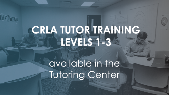 CRLA Training Available