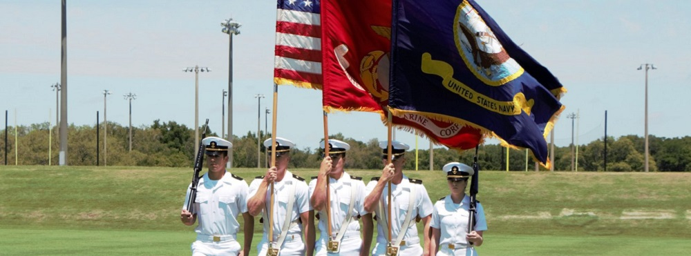 Buccaneer Battalion Color Guard