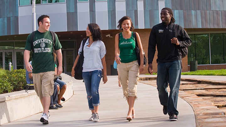 USF Students on the Tampa Campus