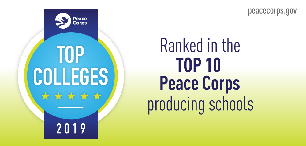 USF is a Top-Producing College for Peace Corps