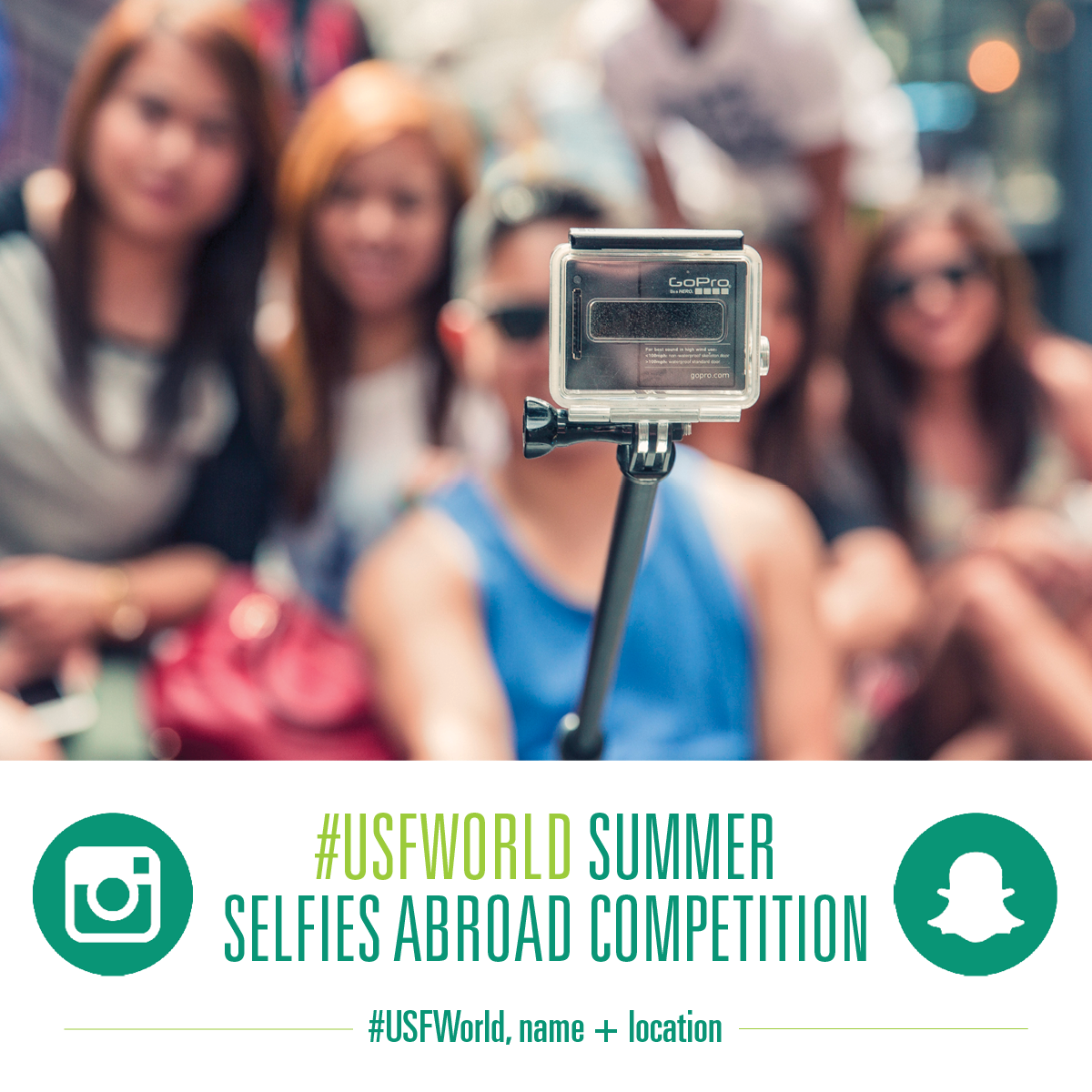 2017 USF World Summer Selfie Contest
