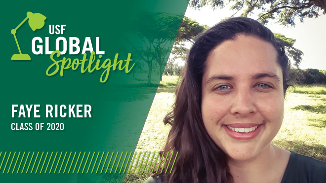 Global Spotlight - Faye Ricker