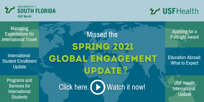 2021 Spring Global Engagement Update