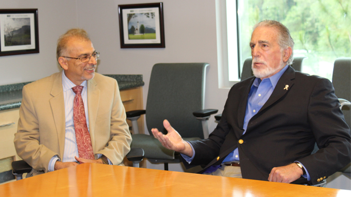 Dr. Mohsen Milani and Judge Raymond Gross