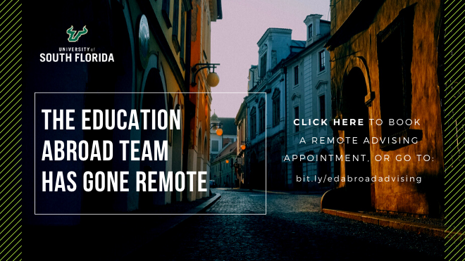 Education Abroad has gone Remote!