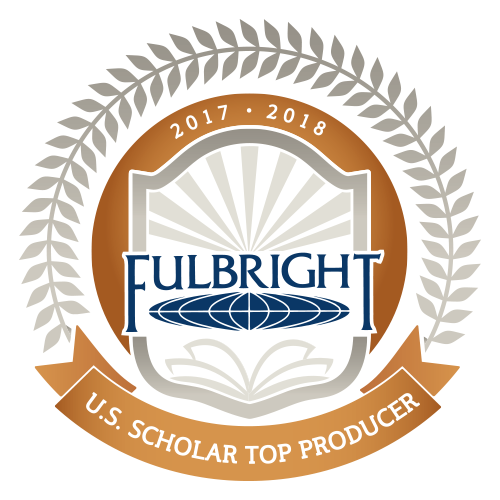 2017-18 Top Producer of Fulbright Scholars