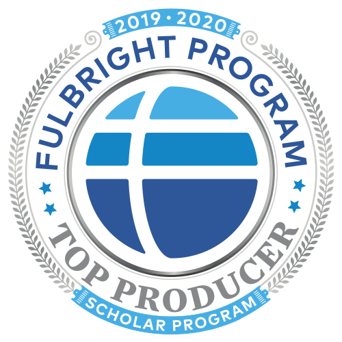 Fulbright Top Producer 2019 - 2020 Badge