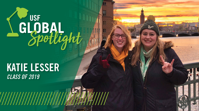 Global Spotlight - Katie Lesser
