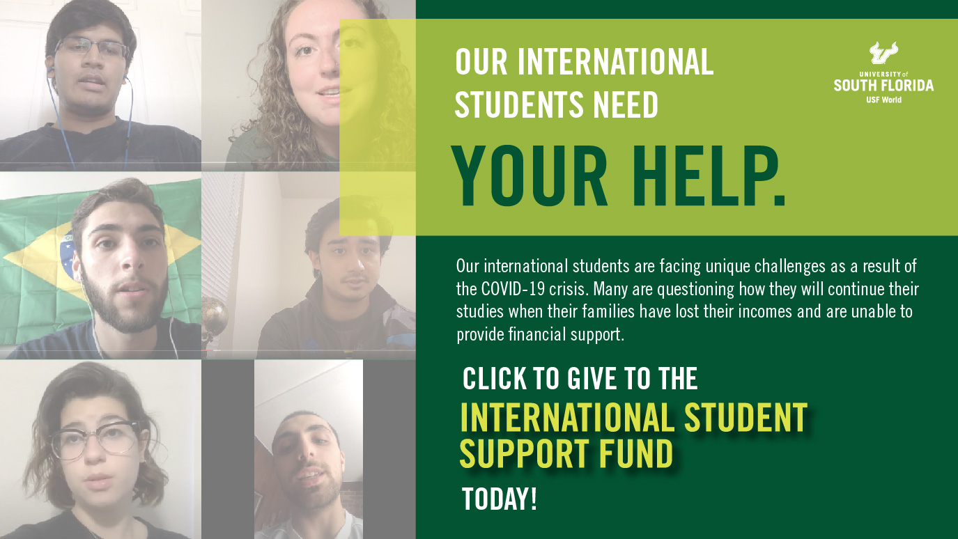 International Student Support Fund image