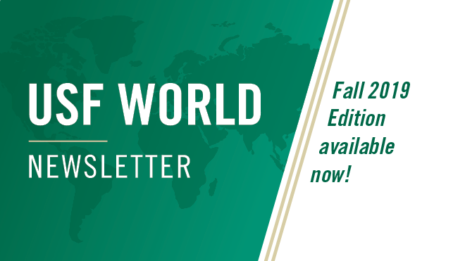 USF World Newsletter - Fall 2019