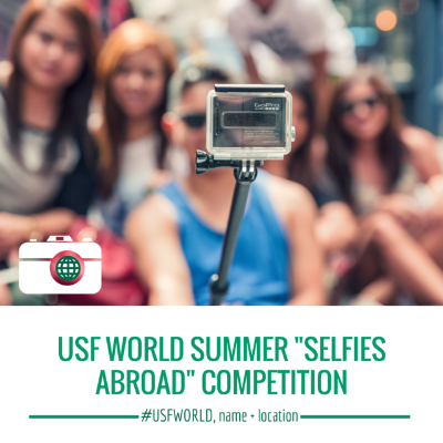 USF World Selfies Abroad Contest