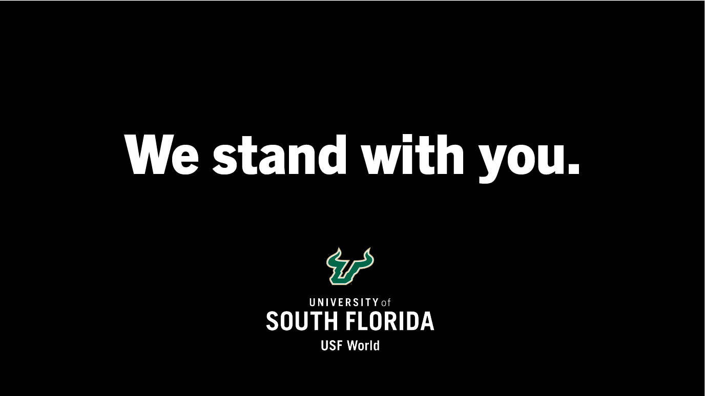 We Stand With You graphic