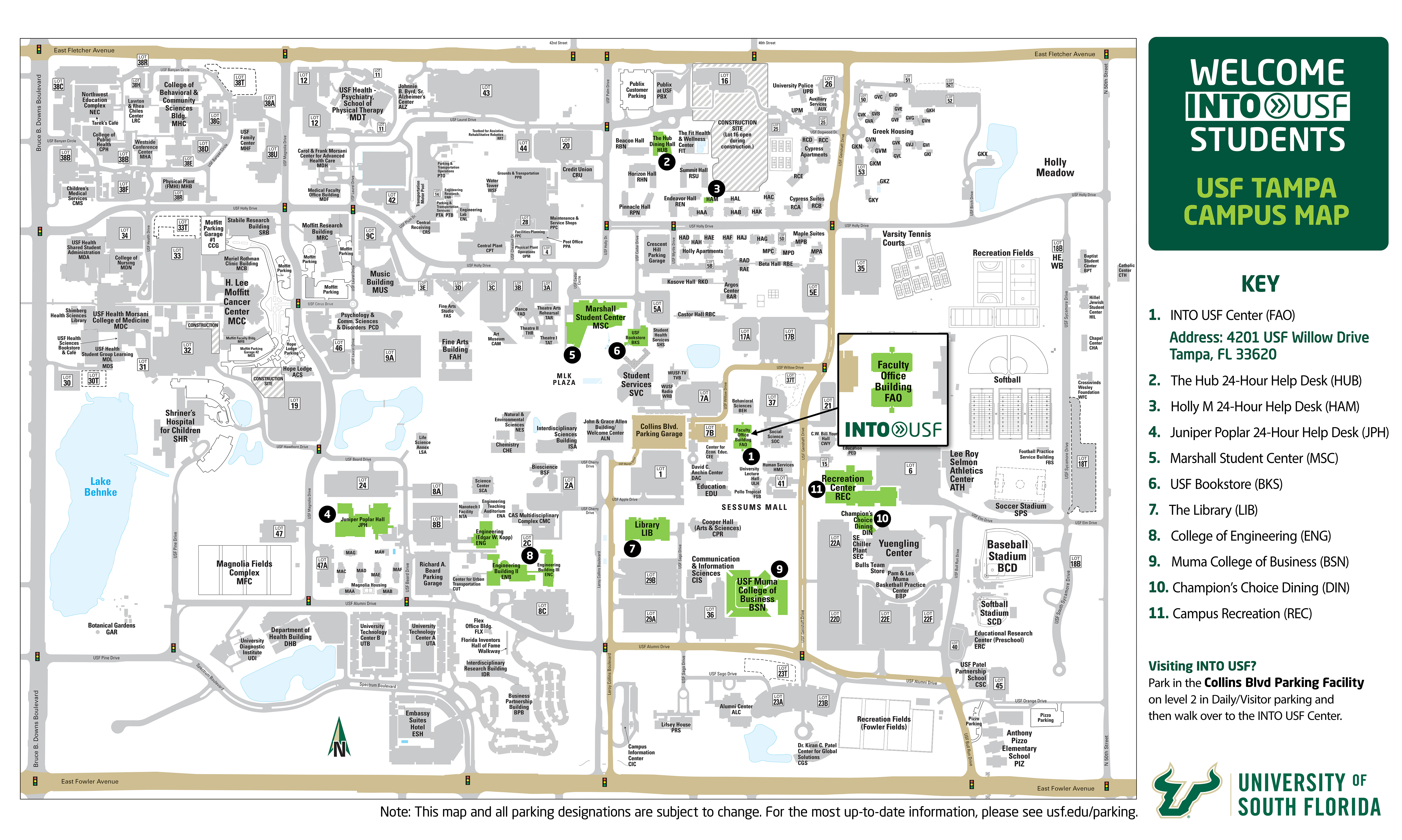 university of south florida campus map University Of South Florida Campus Map Map Of The World university of south florida campus map