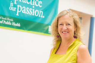 Picture of Donna Petersen, dean, USF Health College of Public Health