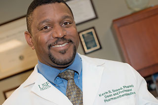 Photo of Kevin Sneed, dean, USF Health College of Pharmacy