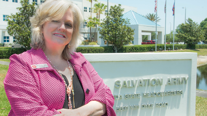 Dottie Groover-Skipper, 92', anti-trafficking coordinator for the Salvation Army's Florida divisional headquarters