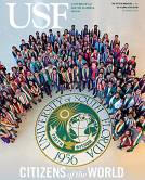 USF Magazine Summer 2018 cover