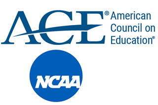 ACE American Council on Education and NCAA logo