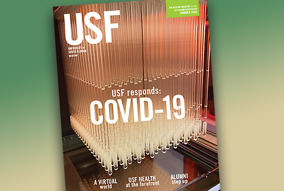 Summer 2020 issue of USF Magazine