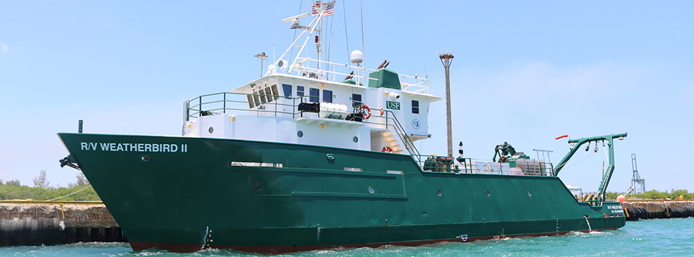 USF CMS Research Vessel (R/V) Weatherbird II