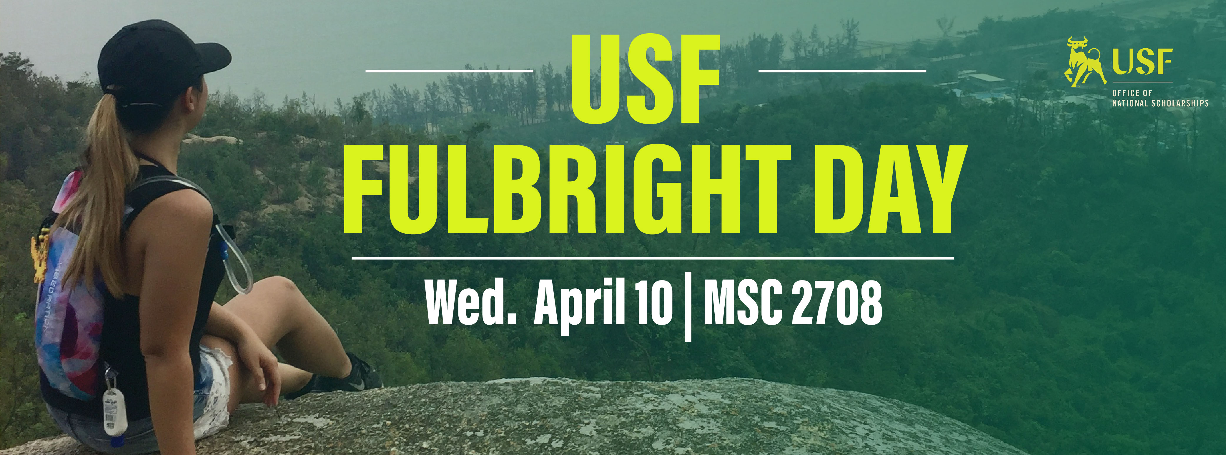USF Fulbright Day is April 10, 2019!