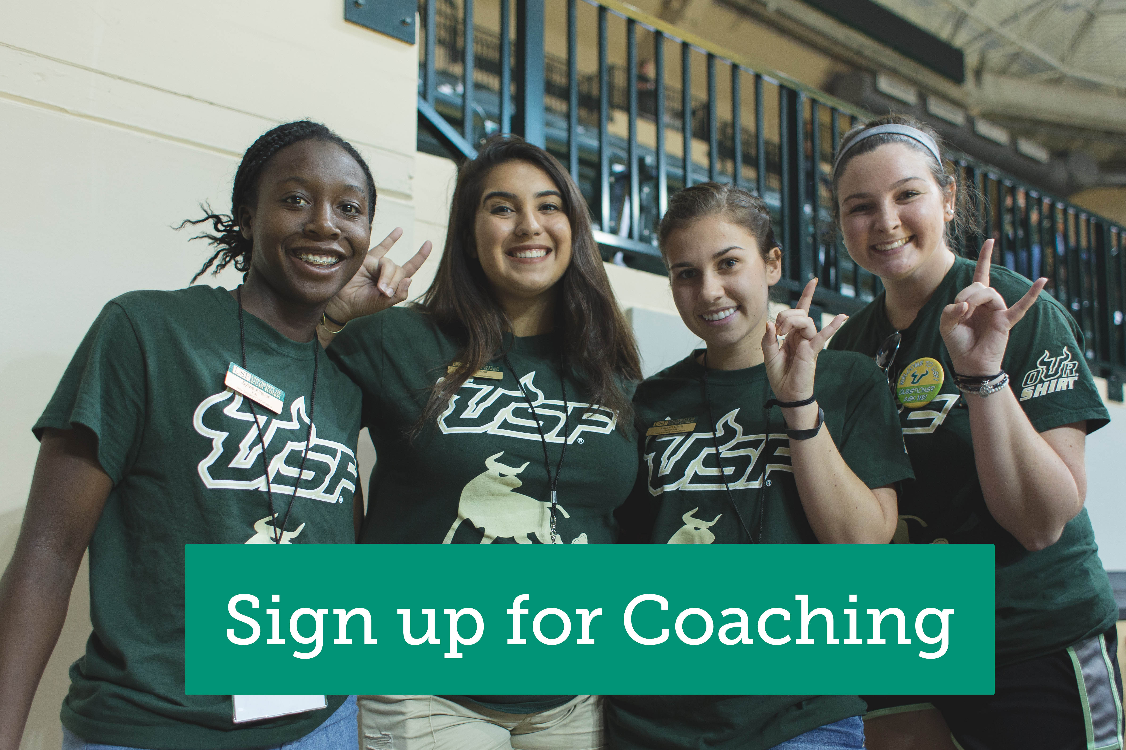 Sign up for coaching