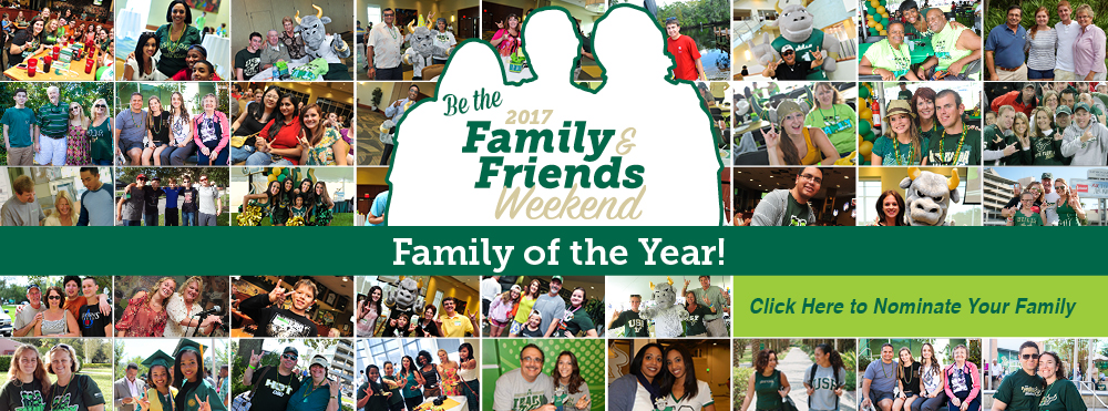 Be the 2017 Family of the Year!