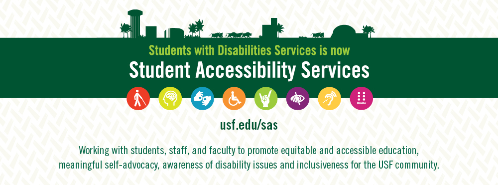 Students with Disabilities Services in now Student Accessibility Services