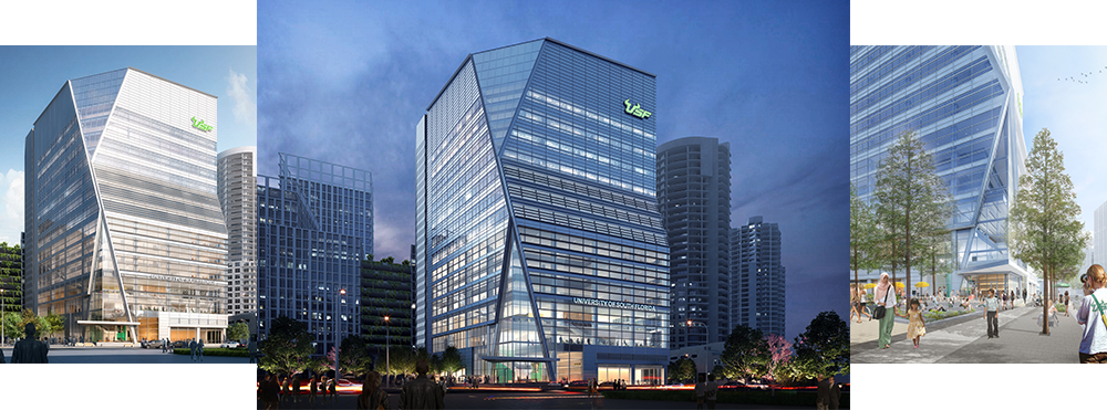 USF Downtown exterior rendering