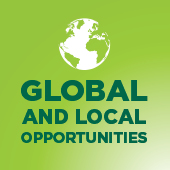Global and local opportunities