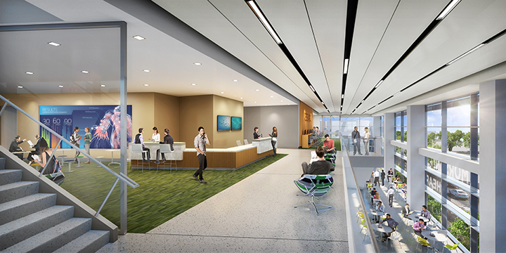 Florida Blue Health Knowledge Exchange/Library Concept Rendering