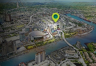 Water Street Tampa phase 1 vision, 2014