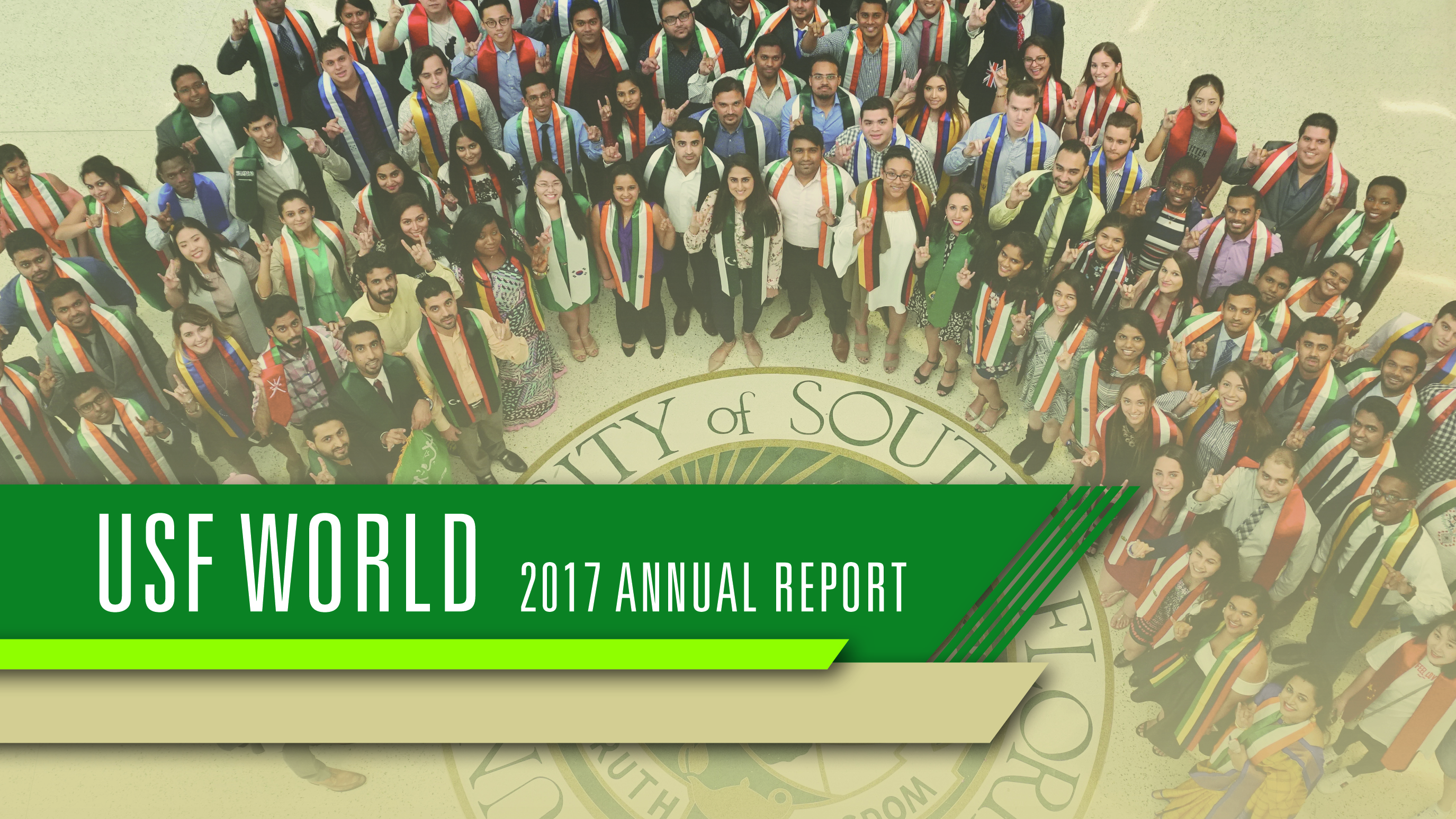 Cover of 2017 USF World Annual Report